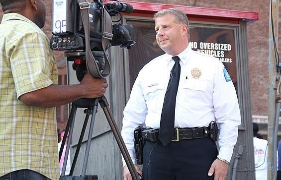 Police Chief Dotson - MADELAINE AZAR