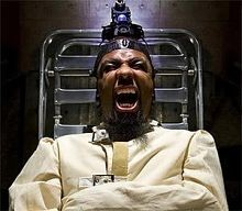 There's a good chance you will get to see Tech N9ne make this face this weekend.