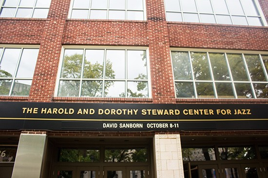 The Harold and Dorothy Steward Center for Jazz.   Photos by Mabel Suen