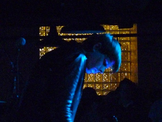 COLD CAVE PLAYS IN THE DARK. PHOTO BY KIERNAN MALETSKY