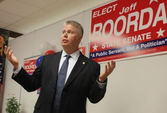 Democratic State Rep. Jeffrey Roorda  was one of the people behind a crowd-funding site for Ferguson officer Darren Wilson. - DANNY WICENTOWSKI