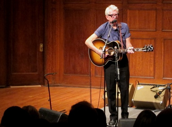 Nick Lowe at the Sheldon - ROY KASTEN