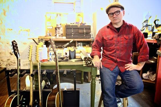 Tritone Guitars' Dave Anderson is St. Louis' one-stop guitar guru. - NATE BURRELL