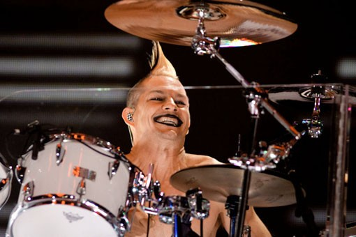 No Doubt drummer Adrian Young. Slideshow here. - KENNY WILLIAMSON
