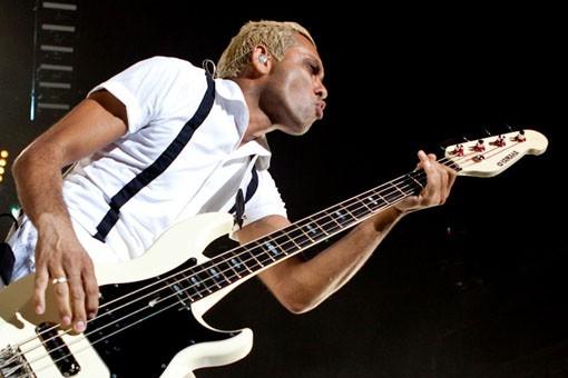 No Doubt bassist Tony Kanal. Slideshow here. - KENNY WILLIAMSON