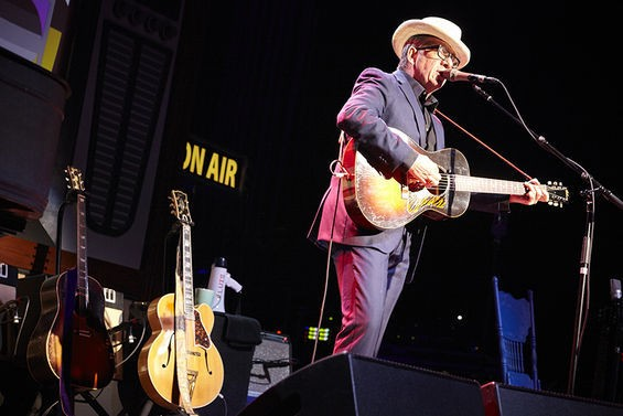 Elvis Costello performed to a packed house last night. - STEVE TRUESDELL