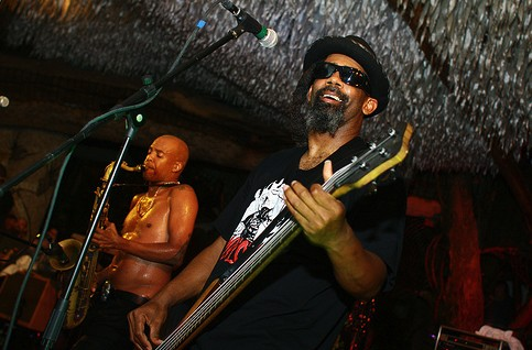 Fishbone last night at the City Museum. - PHOTO: CRYSTAL ROLFE