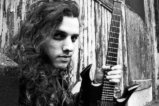 Chuck Schuldiner - PRESS PHOTO