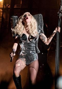 Lady Gaga in LA, 12/23/09 - TIMOTHY NORRIS/LA WEEKLY