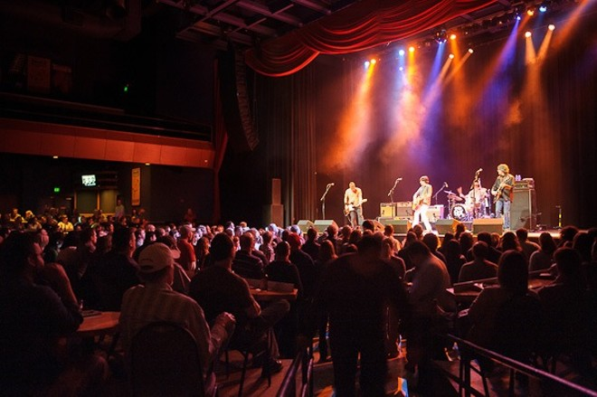 A sedate crowd at the Old 97's concert. - TODD OWYOUNG