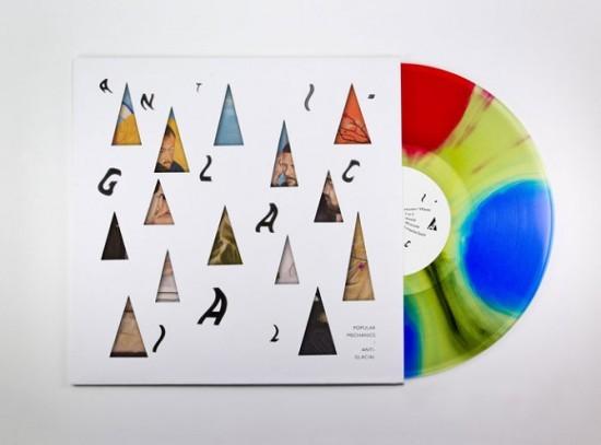Award-winning album art for Anti-Glacial, the latest release from Popular Mechanics. - COURTESY OF JAMES WALKER