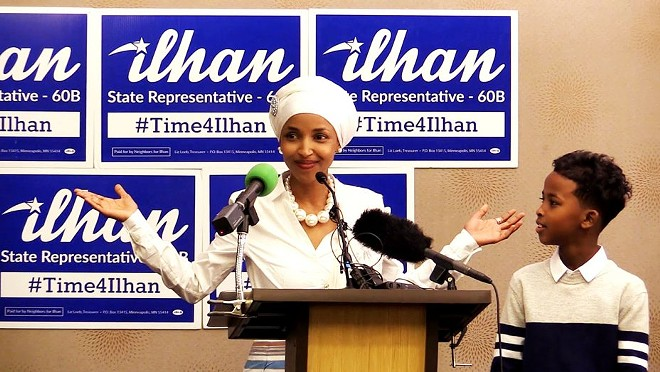 State Rep. Ilhan Omar fought cultural chauvinism and the Trump wave and came out on top. - COURTESY OF CINEMA ST. LOUIS
