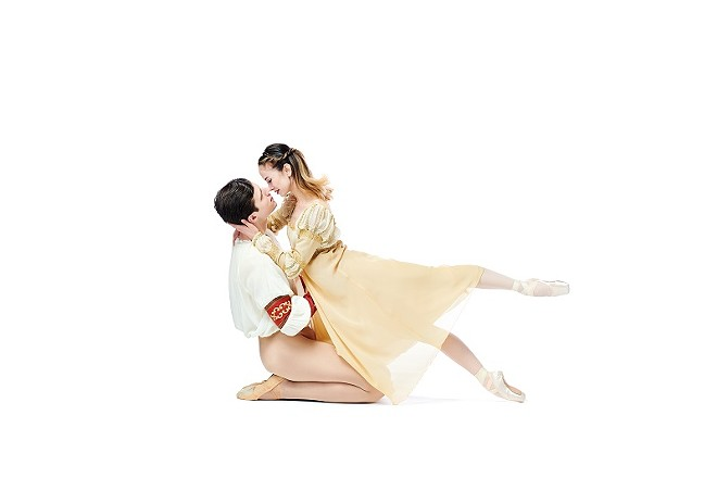 Romeo and Juliet dance again this weekend. - PRATT KREIDICH, COURTESY OF SAINT LOUIS BALLET