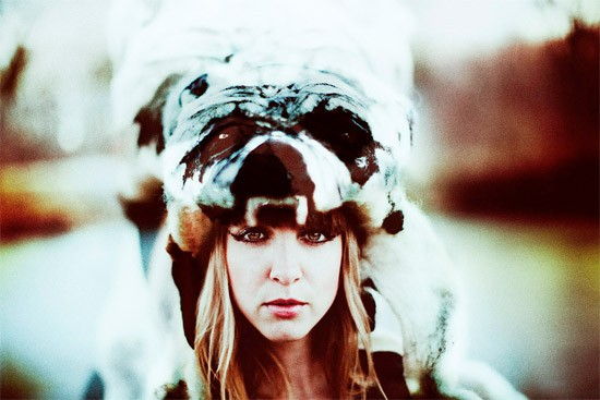 PHOTO BY DP MULLER. HEADDRESS BY ERIN SHAW.