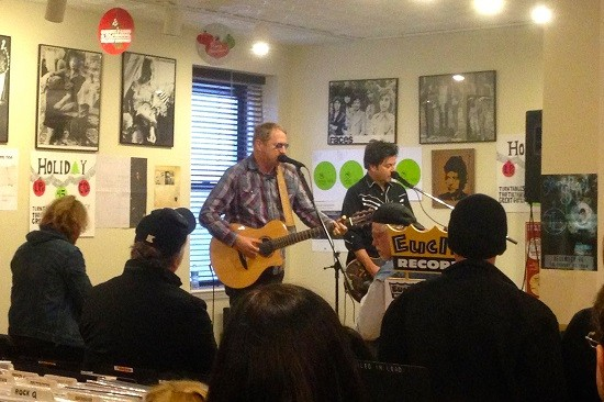 Cracker, performing at Euclid Records. - MIKE VANGEL