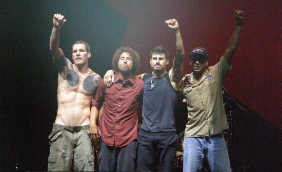 """Rage Against the Machine's """"Killing in the Name"""" has confounded censors for years. And while the song's appeared in three music video games, the results haven't always been pretty. - WIKIMEDIA COMMONS"""