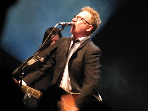 Dave King, vocalist - ANNIE ZALESKI
