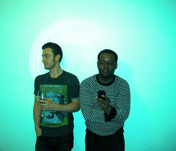 Berrek Thompson and Justin Price, the founders of Music of The Hour. Their new website launches today.