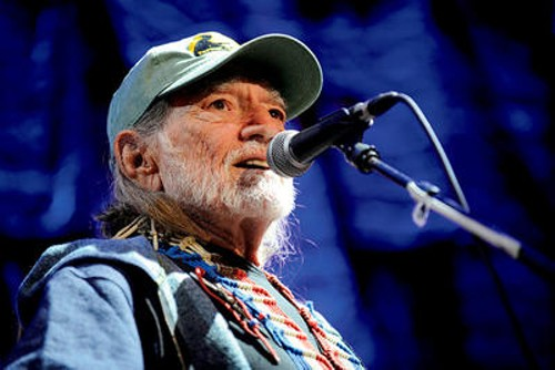 Willie Nelson at Farm Aid 2009 - TODD OWYOUNG