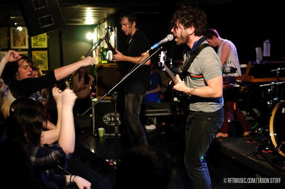 Foals. Photos by Jason Stoff