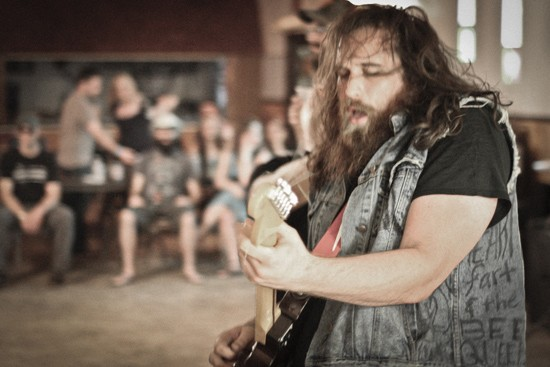 Zack (of Carriage House) performing at last year's Whiskey War Festival. - RICK MILLER