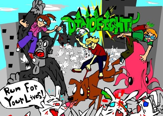 DinoFight! CD Release - Thursday, Feb. 28 @ Off Broadway