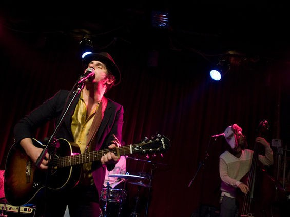 Langhorne Slim performs at Off Broadway with Cory Chisel this Valentine's Day. See more pics from his show in 2010 in RFT Slideshows. - PHOTO BY JON GITCHOFF