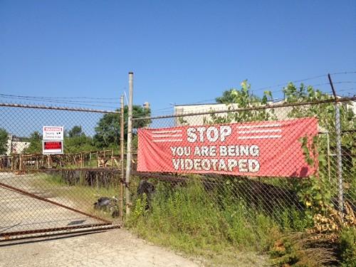 Cementland, not meant for urban explorers - JAIME LEES