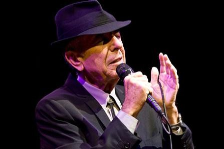 Leonard Cohen at this year's Coachella music festival. - TIMOTHY NORRIS/LA WEEKLY