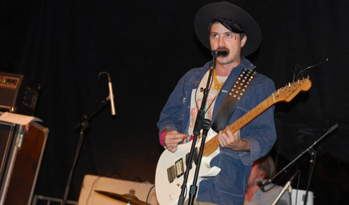 The Black Lips on Saturday night at Pitchfork Music Festival.