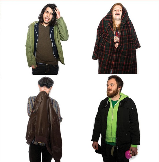 Little Big Bangs: A south-city grunge rock quartet. - THEO WELLING