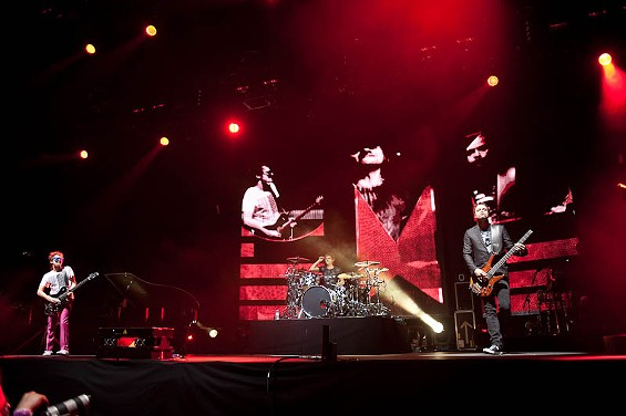 Muse at Coachella music festival in April. - TIMOTHY NORRIS / LA WEEKLY