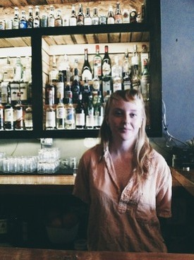 Kristin Dennis of The Fortune Teller Bar and Née - PHOTO TAKEN BY THE AUTHOR