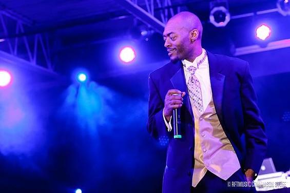 Tony J, the host from the night - JASON STOFF