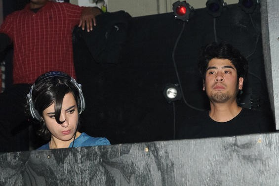 Mira Aroyo and Reuben Wu of Ladytron - JASON STOFF