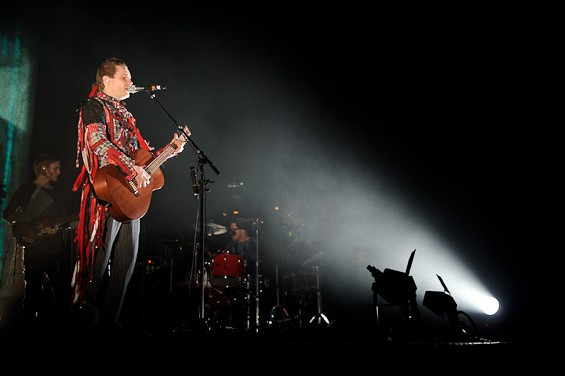 Jonsi at the Pageant - TODD OWYOUNG