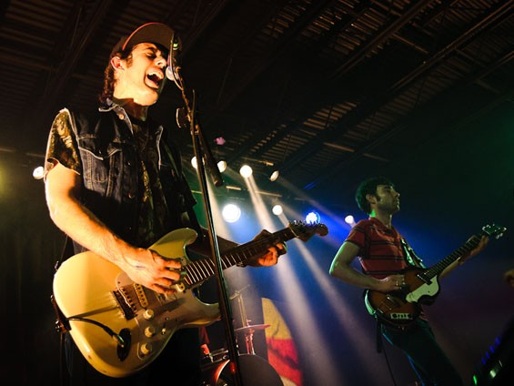 The Black Lips last night at the Firebird. See a full slideshow from last night here. - PHOTO: JASON STOFF
