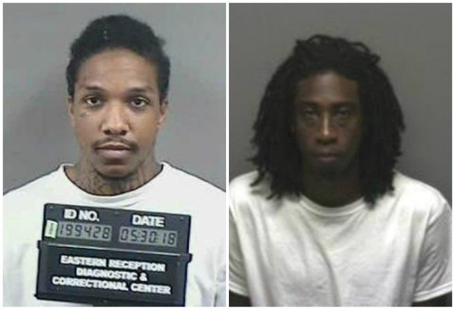 Ammazibad Johnson (left) and Darean Marshall were also charged in Jerome Boyd's killing. - MISSOURI DOC/FRANKLIN COUNTY