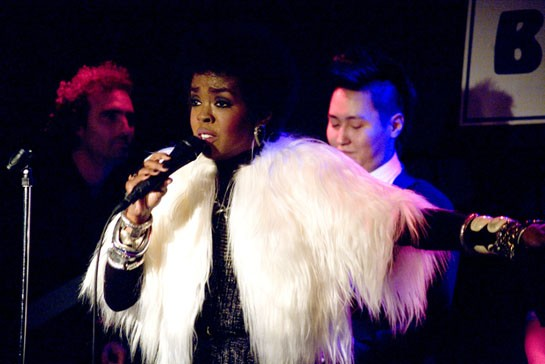 Ms. Lauryn Hill on January 3, 2011 in NYC - SANTIAGO FELIPE/VILLAGE VOICE