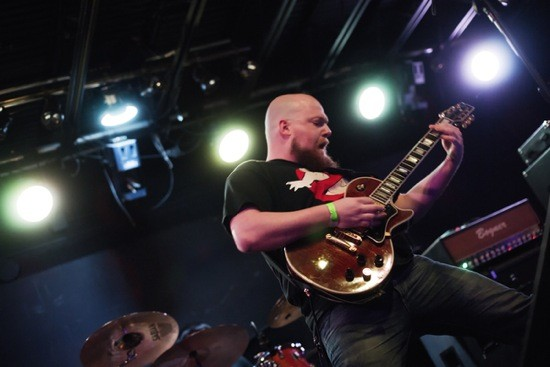 Phil Ring, guitarist and now vocalist for the Gorge, plays at the Firebird on Friday. - BRYAN SUTTER