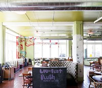 Plush's charming restaurant side, which stopped serving food only months ago. - PHOTO BY JENNIFER SILVERBERG