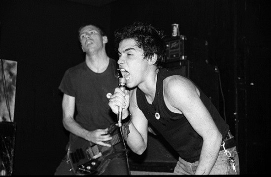 Greg Ginn and Ron Reyes, circa a long time ago. - BEV DAVIES