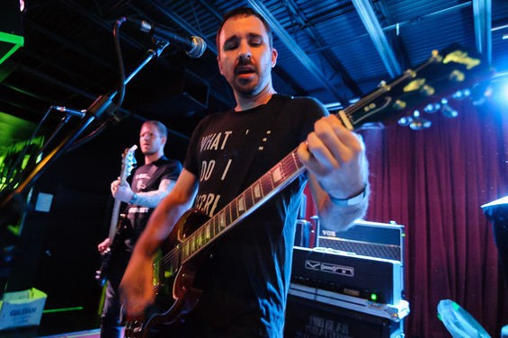 Off With Their Heads on September 19, 2013 at the Firebird in St. Louis.