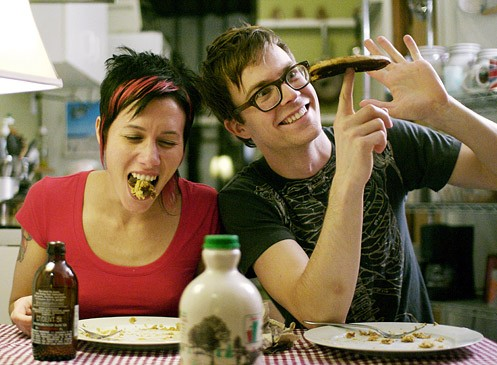 Matt and Kim bring their spastic hyperactivity back to St. Louis on June 23 at The Pageant. - IMAGE VIA