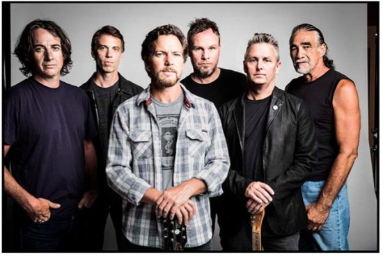 Pearl Jam is back in a state of love and trust with St. Louis. - PRESS PHOTO