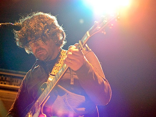 Lou Barlow opens the show. See more photos from last night's show. - PHOTO: JASON STOFF
