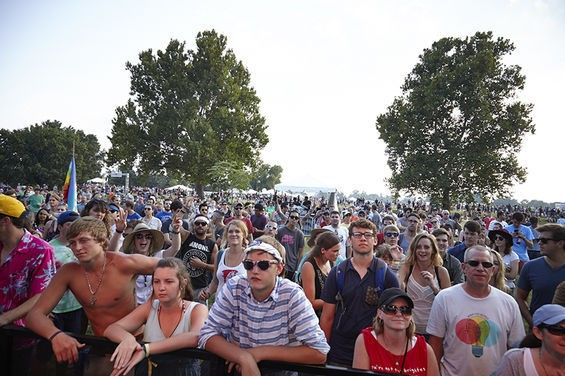 The crowd at last year's LouFest. - STEVE TRUESDELL