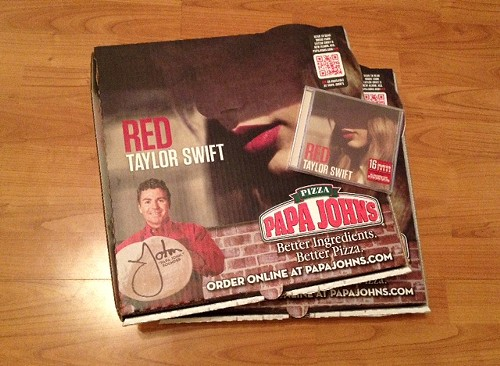 Taylor Swift pizza party