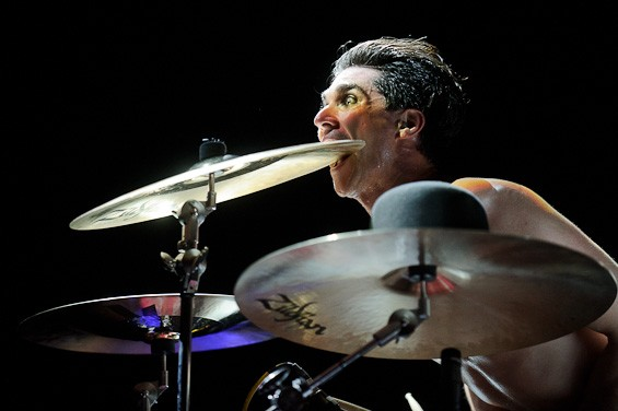 Brian Viglione of the Dresden Dolls - TODD OWYOUNG