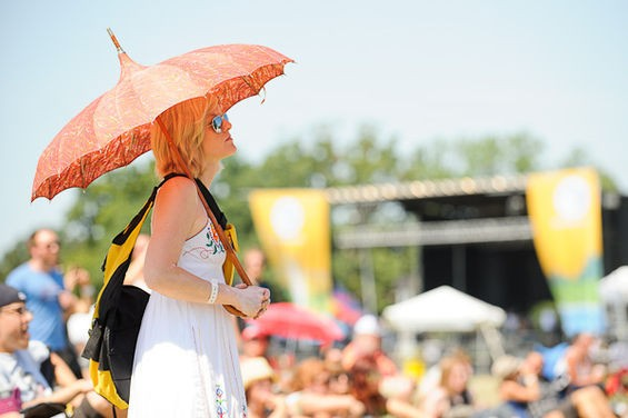 AT LOUFEST 2011. PHOTO BY TODD OWYOUNG
